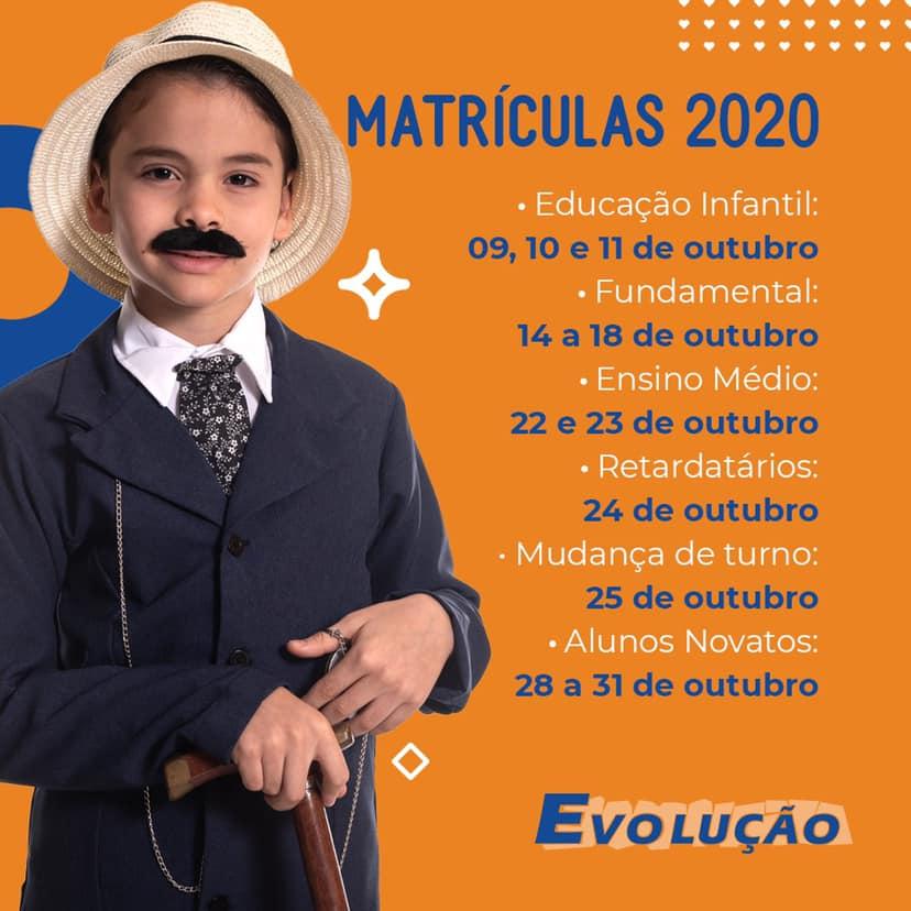 Matrículas 2020